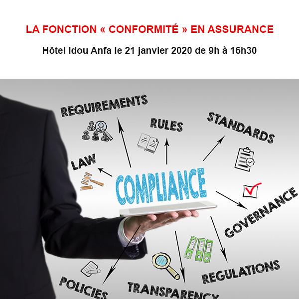 La fonction « Conformité » en assurance