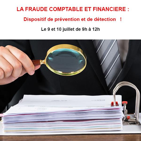 LA FRAUDE COMPTABLE ET FINANCIERE : Dispositif de prévention et de détection !