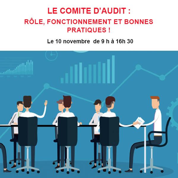 LE COMITE D'AUDIT : Rôle, fonctionnement et bonnes pratiques !